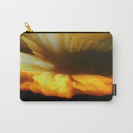 Sunset Abstract Carry-All Pouch