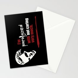Paralyzed Stationery Cards