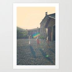 Hilo Art Print