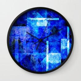 Sapphire Nebulæ Wall Clock