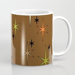 Mid Century Modern Star Sky Earth Tones 2 Coffee Mug