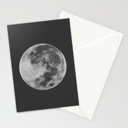 Midnight Moon Stationery Cards