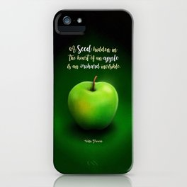 Apple Seed iPhone Case