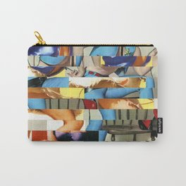 Glitch Pin-Up Redux: Yasmin & Yardley Carry-All Pouch