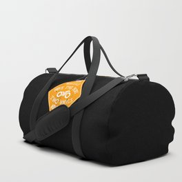4 wheels move the body - 2 wheels move the soul Duffle Bag
