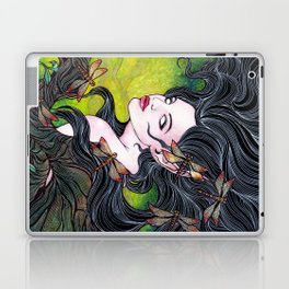 Queen of dragonflies Laptop & iPad Skin