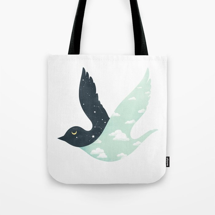 Bipolar Bird Tote Bag