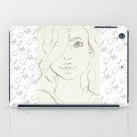 alaska iPad Cases featuring Alaska  by Art By JuJu