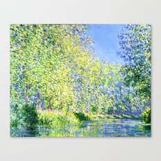 Monet: Bend in the River Ept Canvas Print