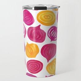 Spring Beet pattern Travel Mug