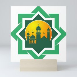 Symbol of Muslim Mini Art Print