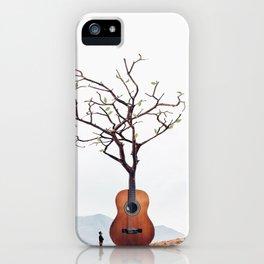 Guitar Tree iPhone Case
