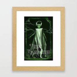 The Monster's Bride Framed Art Print