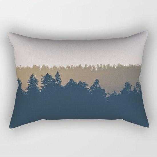 Woods Abstract Rectangular Pillow