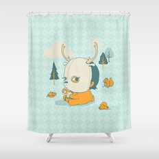 Esquilophrenic Shower Curtain