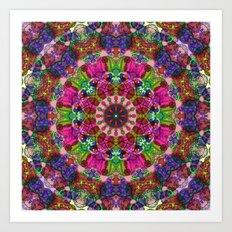 Mandala Mehndi Style G495 Art Print