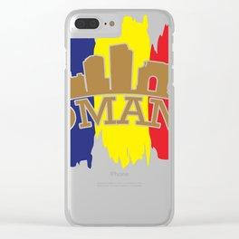 Romania gift Bucharest Transylvania Romanian Clear iPhone Case