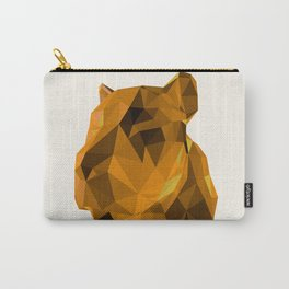 Tessellated Lioness Carry-All Pouch