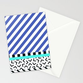 Memphis pattern 83 Stationery Cards