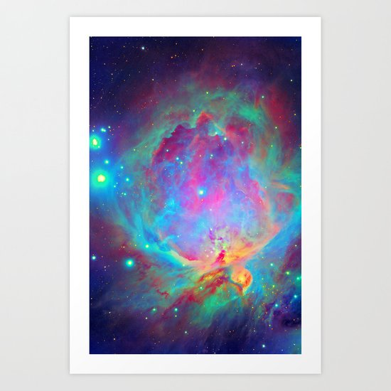 Orion Nebula Art Print