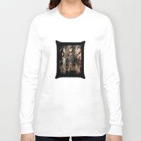 the hobbit Long Sleeve T-shirts featuring  Hobbit by ira gora