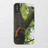 runner iPhone & iPod Cases featuring Runner by Cristina Cavallari