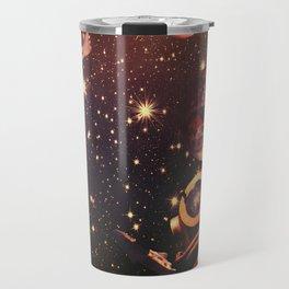 Space Boots. Travel Mug