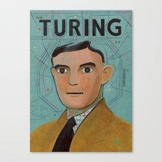 Alan Turing Canvas Print