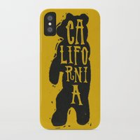 california iPhone & iPod Cases featuring California by Landon Sheely