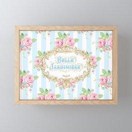 Belle Jardiniere Framed Mini Art Print