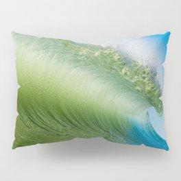 BlueGreen Wave Pillow Sham