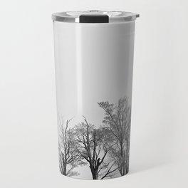 Three Trees and a Bull Travel Mug