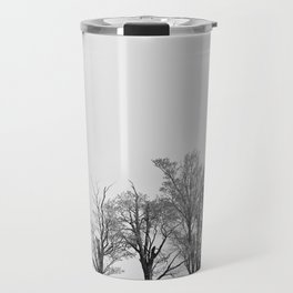 Three Trees and a Bull Travel Mug