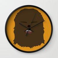 Star Wars Minimalism - Chewbacca Wall Clock
