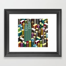 KL City Framed Art Print