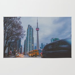 CN Tower Rug