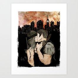 First we take Manhattan Art Print