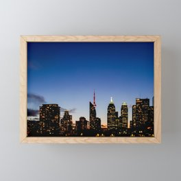 Skyline - The Darkness Is Coming Framed Mini Art Print