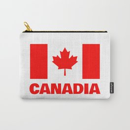 Canadia - Canadan Flag Carry-All Pouch