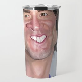 Jim Carrey Caricature art Travel Mug