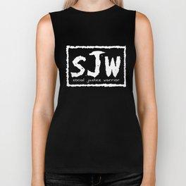 sJw - Social Justice Warrior Biker Tank
