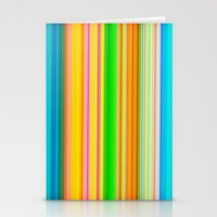 stripe Stationery Cards featuring stripe by AmeliaPeelArt