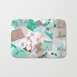 Laundry Day 2 _ Pink /Purple/Green/Sea Foam Bath Mat