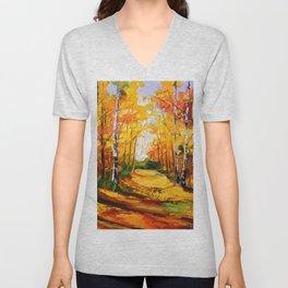 Birch grove Unisex V-Neck