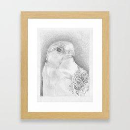 Falcon Punch Framed Art Print