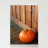 pumpkin Stationery Cards featuring Pumpkin by MSG Imaging