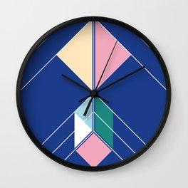 Tangram Arrow Two Wall Clock