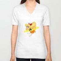 sailor venus V-neck T-shirts featuring Sailor Venus by The Art of Eileen Marie
