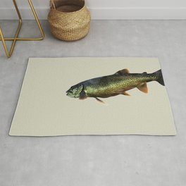Trout on Beige Rug