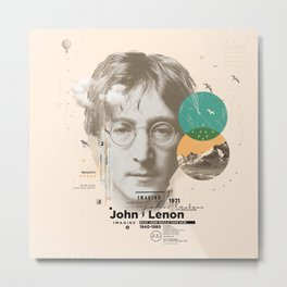 john lenon-imagine Metal Print